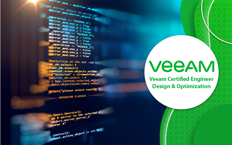 دوره Veeam Certified Engineer Design & Optimization