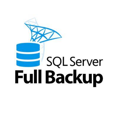 sql server full backup