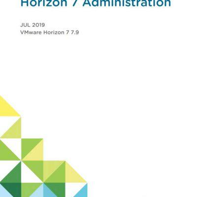 horizon 7 administration