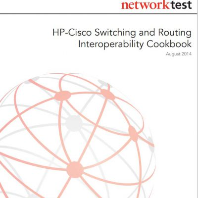hp cisco switching and routing