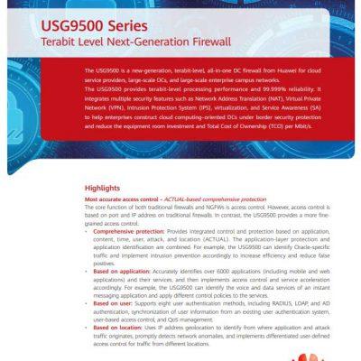 huawei usg9500 series