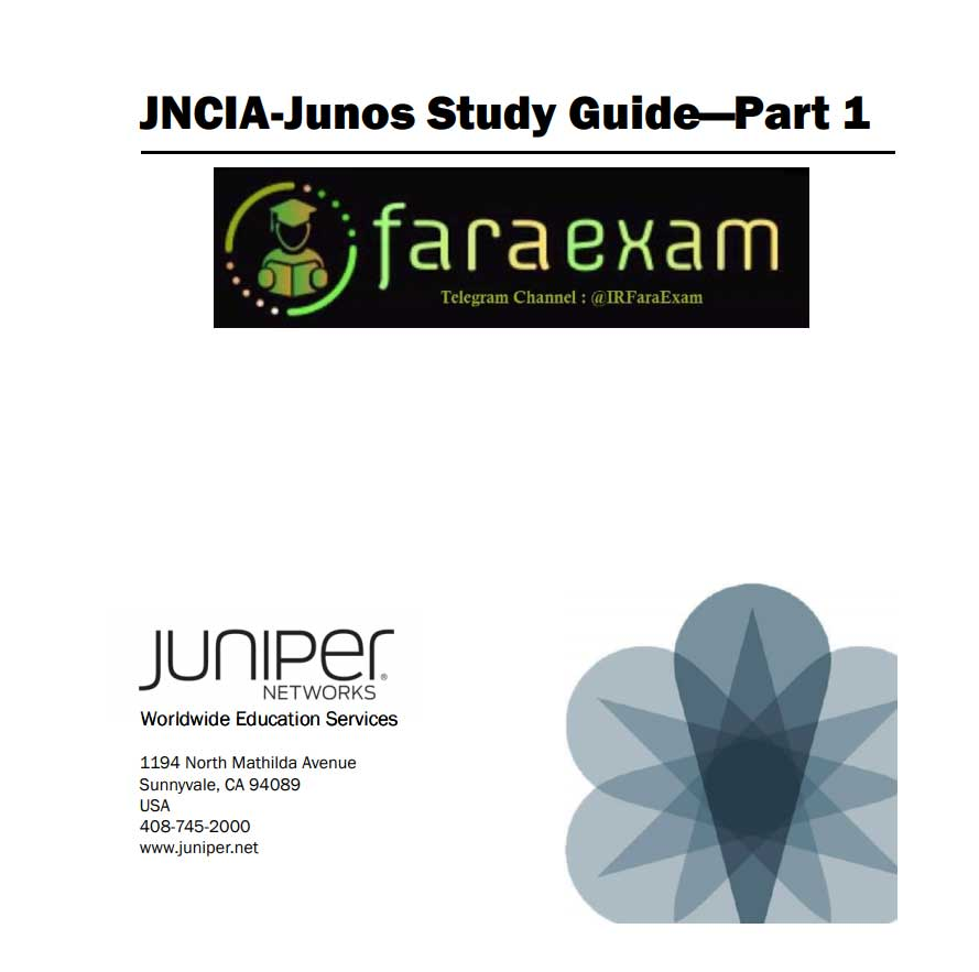 jnica junos study guide part1