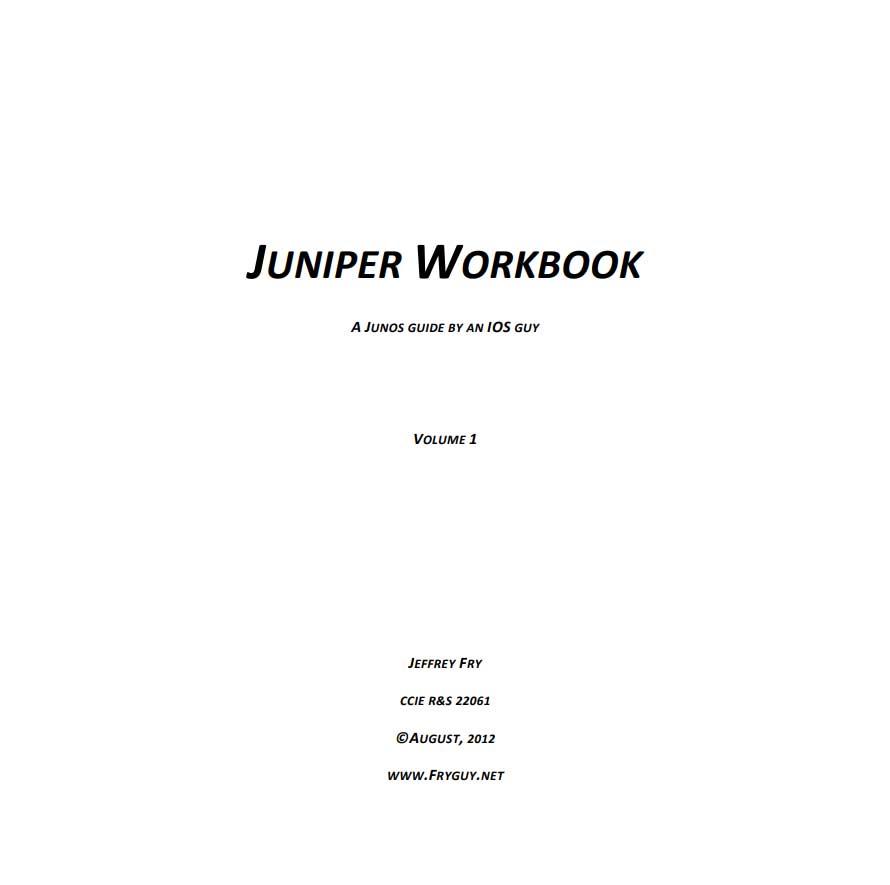 juniper workbook