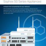 sophos sg series appliances